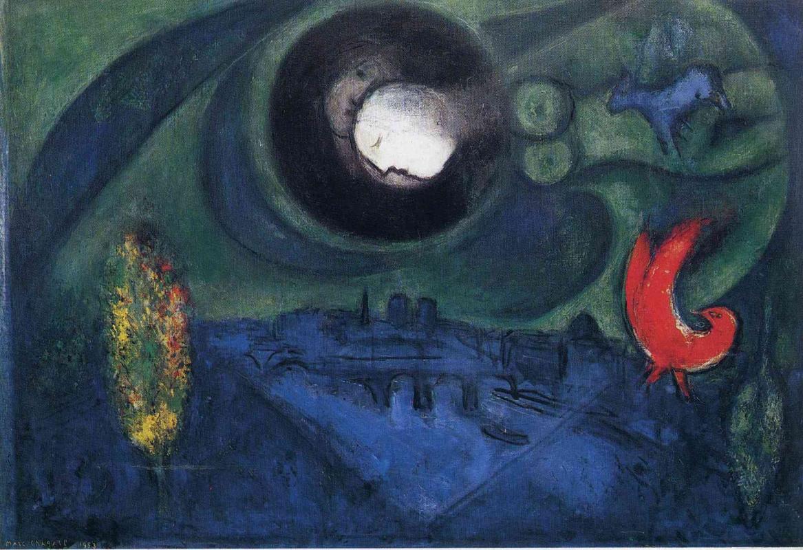 Marc Chagall. Quay De Bercy
