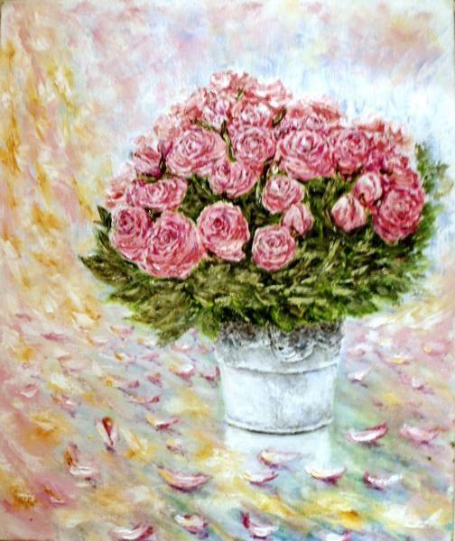 Валерий Владимирович Пахомов. Букет роз