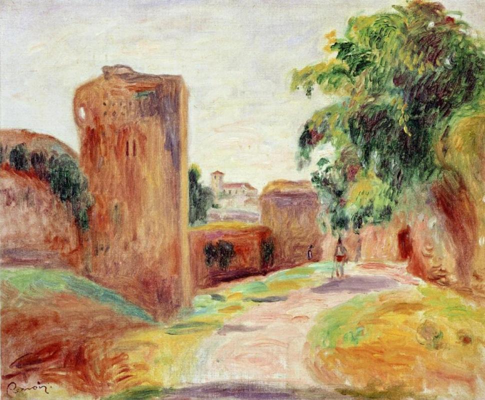Пьер Огюст Ренуар. Стены в Испании