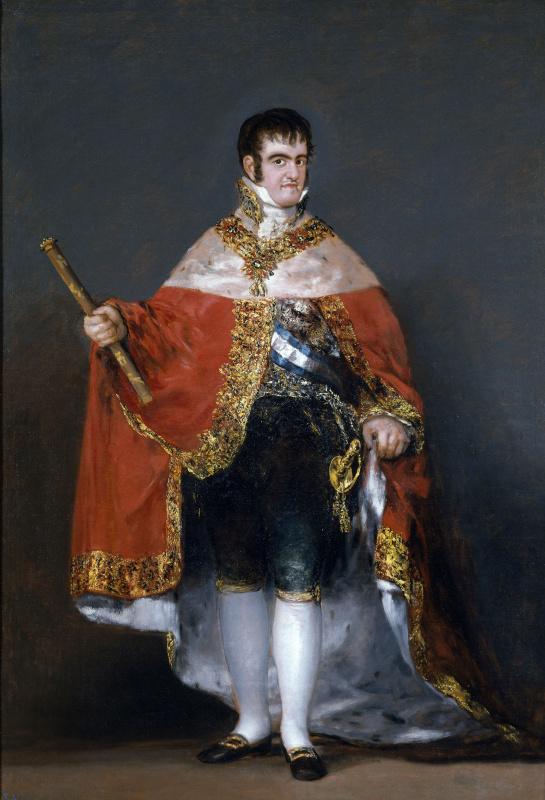 Франсиско Гойя. Король испанский Фердинанд VII