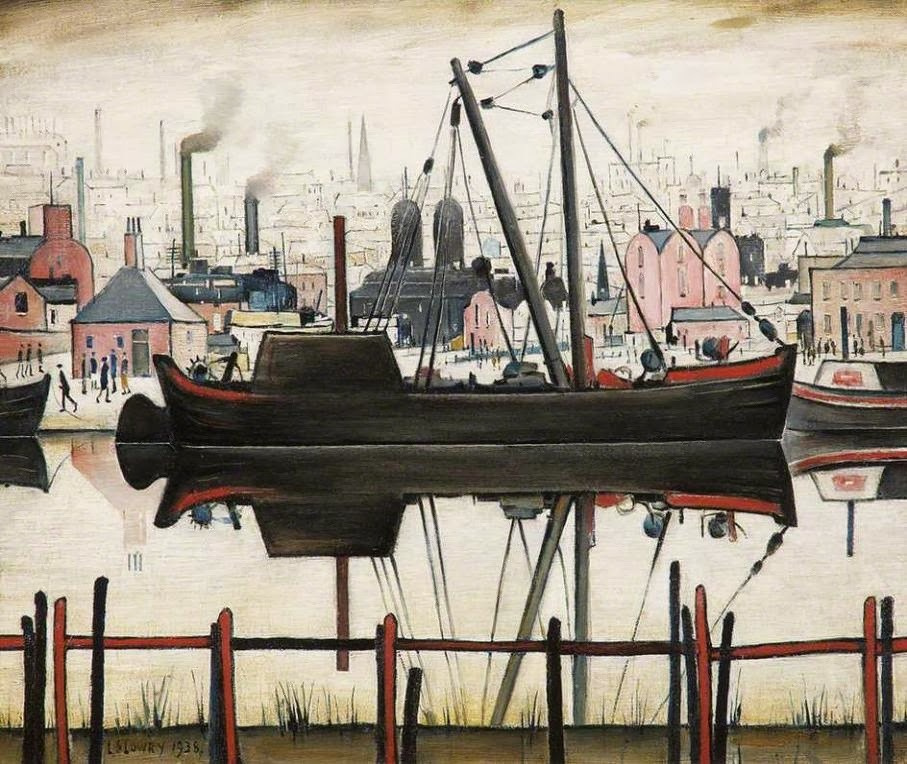 Lawrence Stephen Lowry. Boat