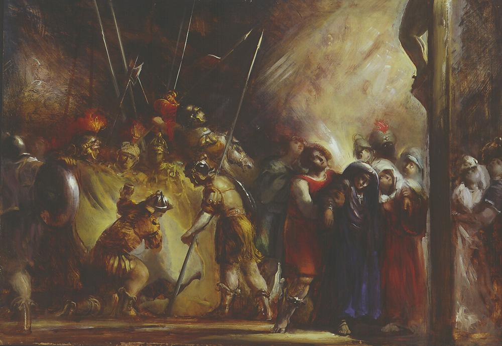 Frank Mason. Crucifixion