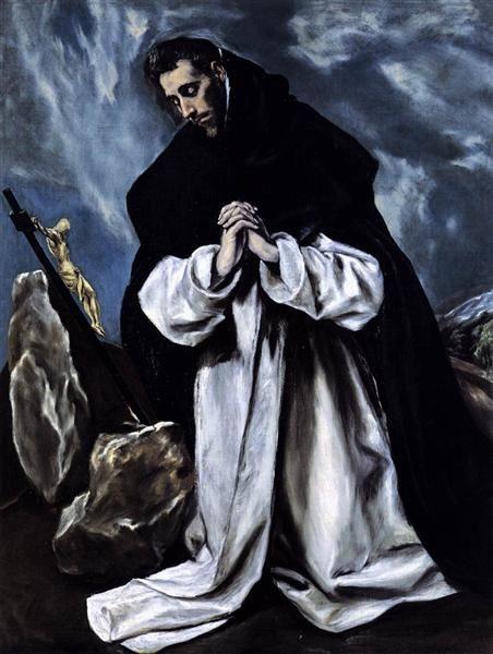 Domenico Theotokopoulos (El Greco). Prayer Of St. Dominic