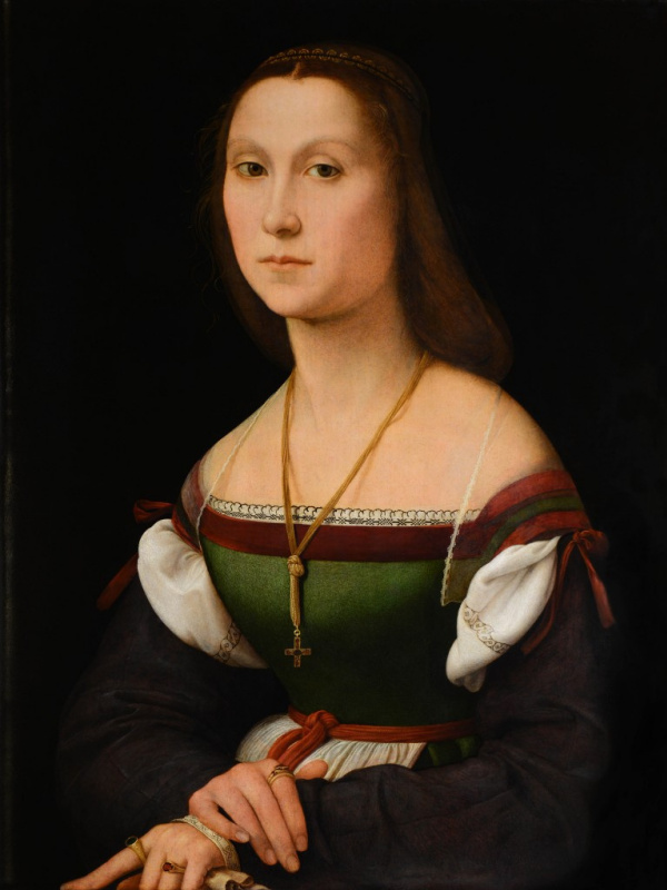 Raphael Santi. Portrait of a woman (Silent)