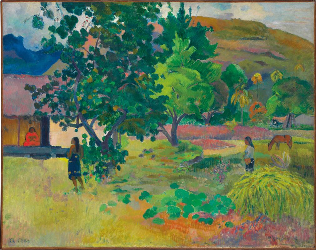 Paul Gauguin. House (Te Fare)
