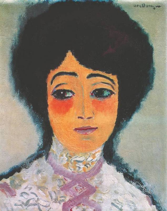 Kees Van Dongen. Spanish Woman