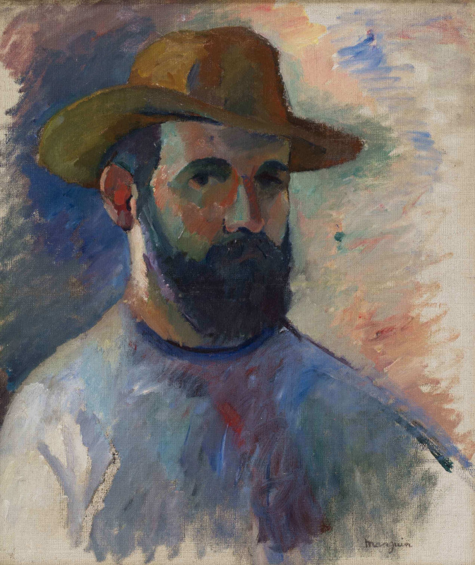 Henri Manguin. Self-portrait