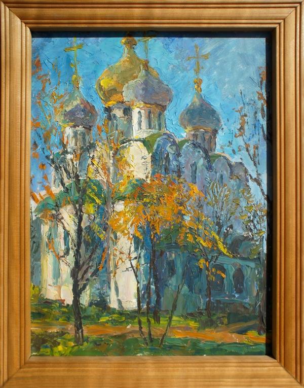 Alexander Matyukhin. Smolensk b.m. Novodevichy convent. Moscow