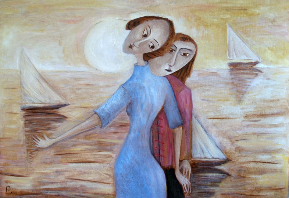 Svyatoslav Ryabkin. Enamoured Lovers