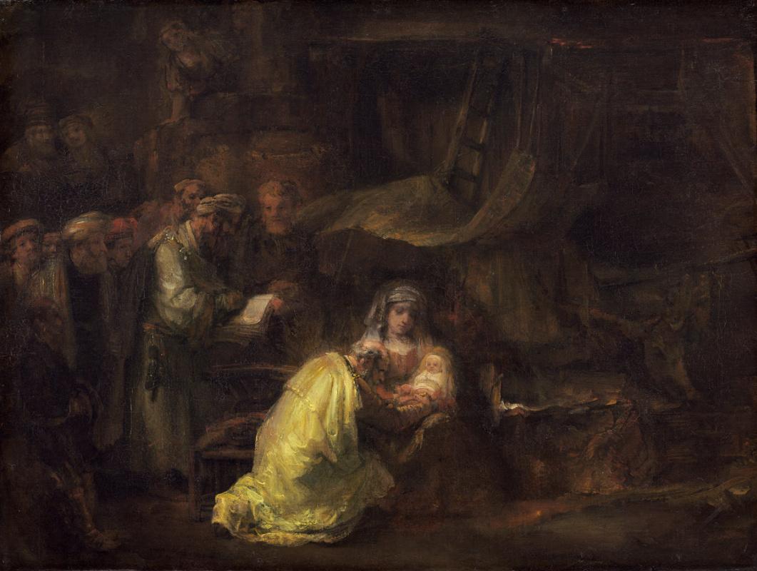 Рембрандт Харменс ван Рейн. Обрезание Христа