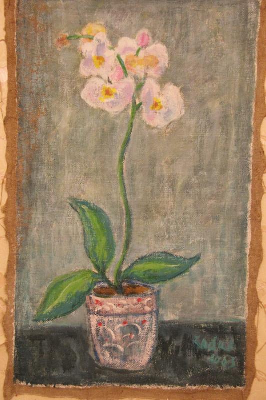 Сабир Султанов. Орхидея