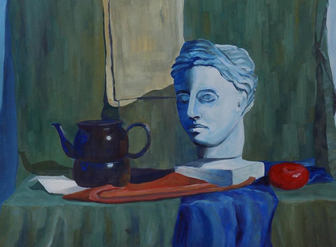 Vasilisa Nikonorova. Educational still life