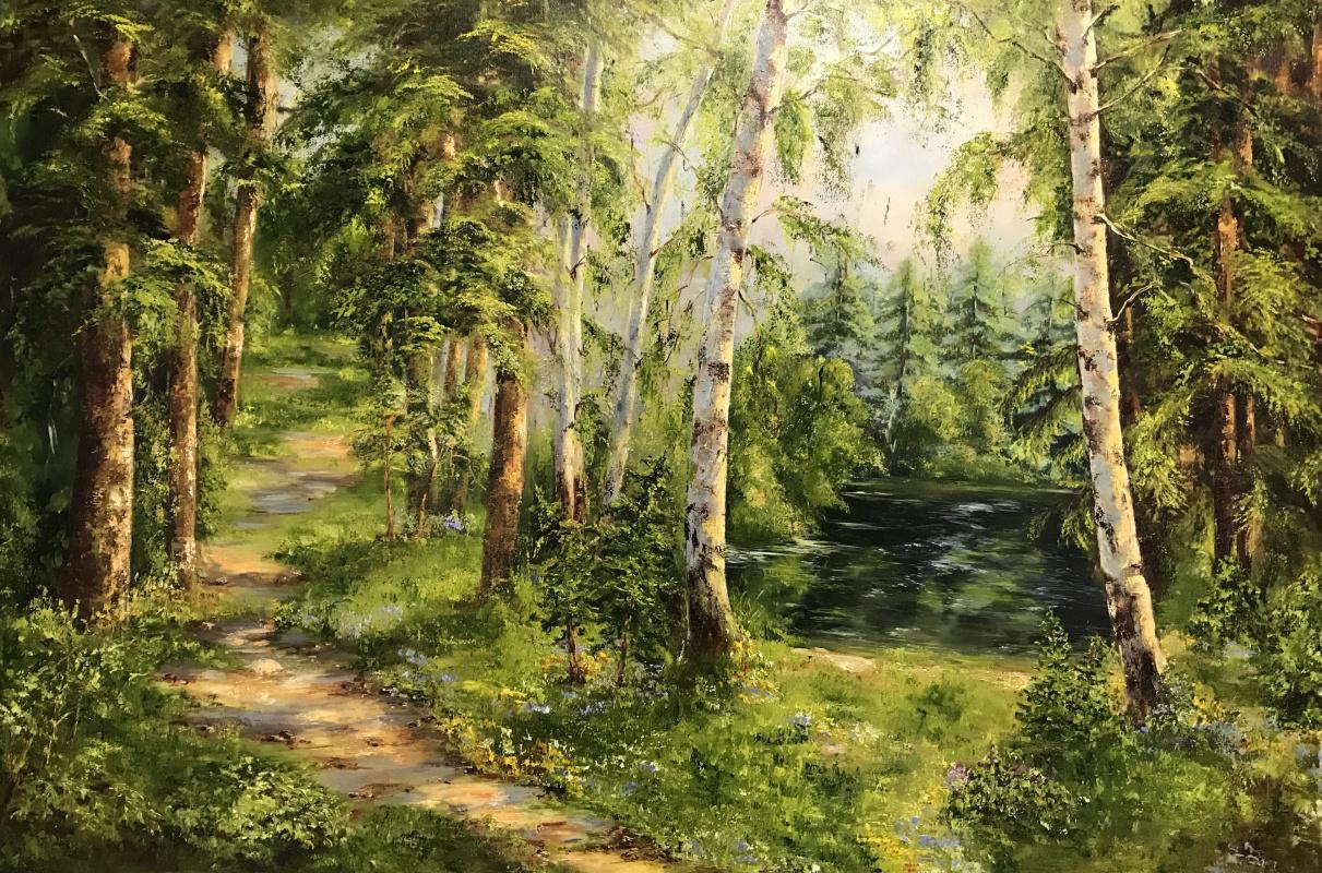 Диана Владимировна Маливани. Forest Path