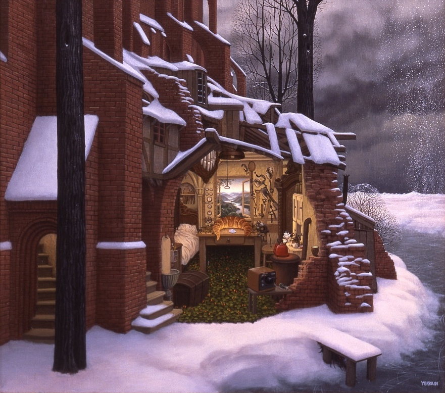 Jacek Yerka. No snow allowed