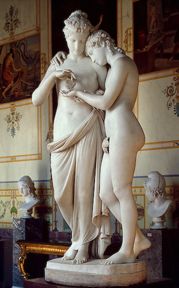 Antonio Canova. Cupid and Psyche