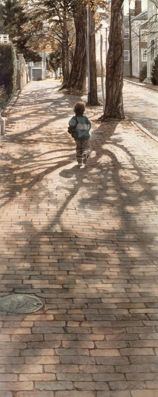 Стив Хэнкс. Тени деревьев
