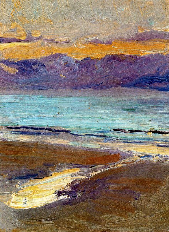 Хоакин Соролья (Соройя). Пляж