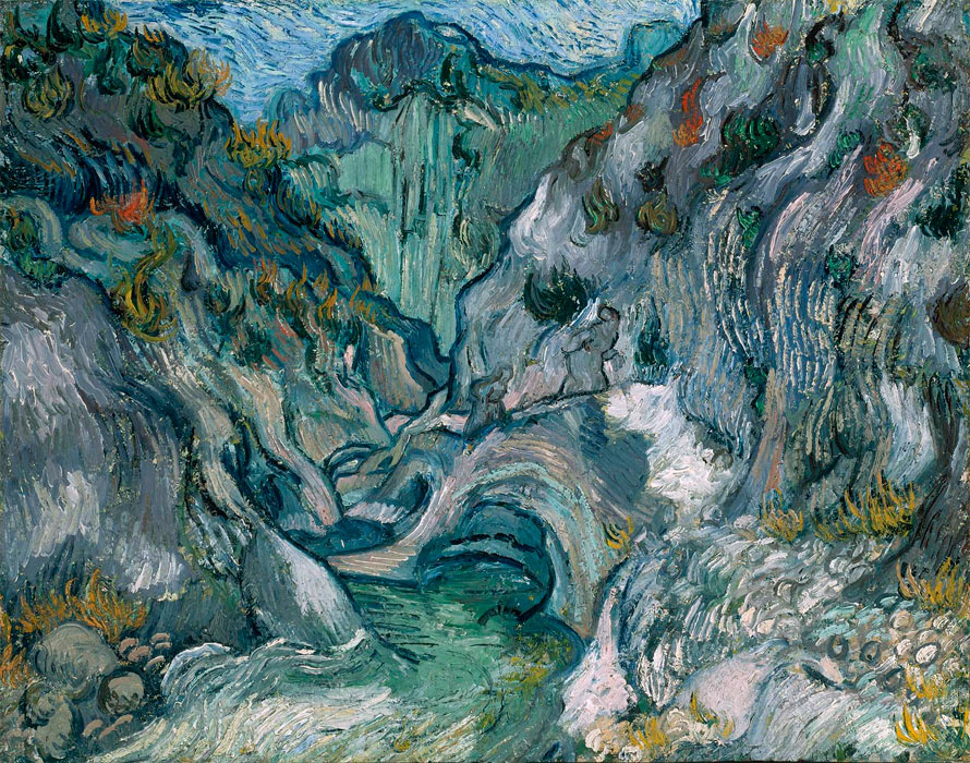 Vincent van Gogh. The ravine
