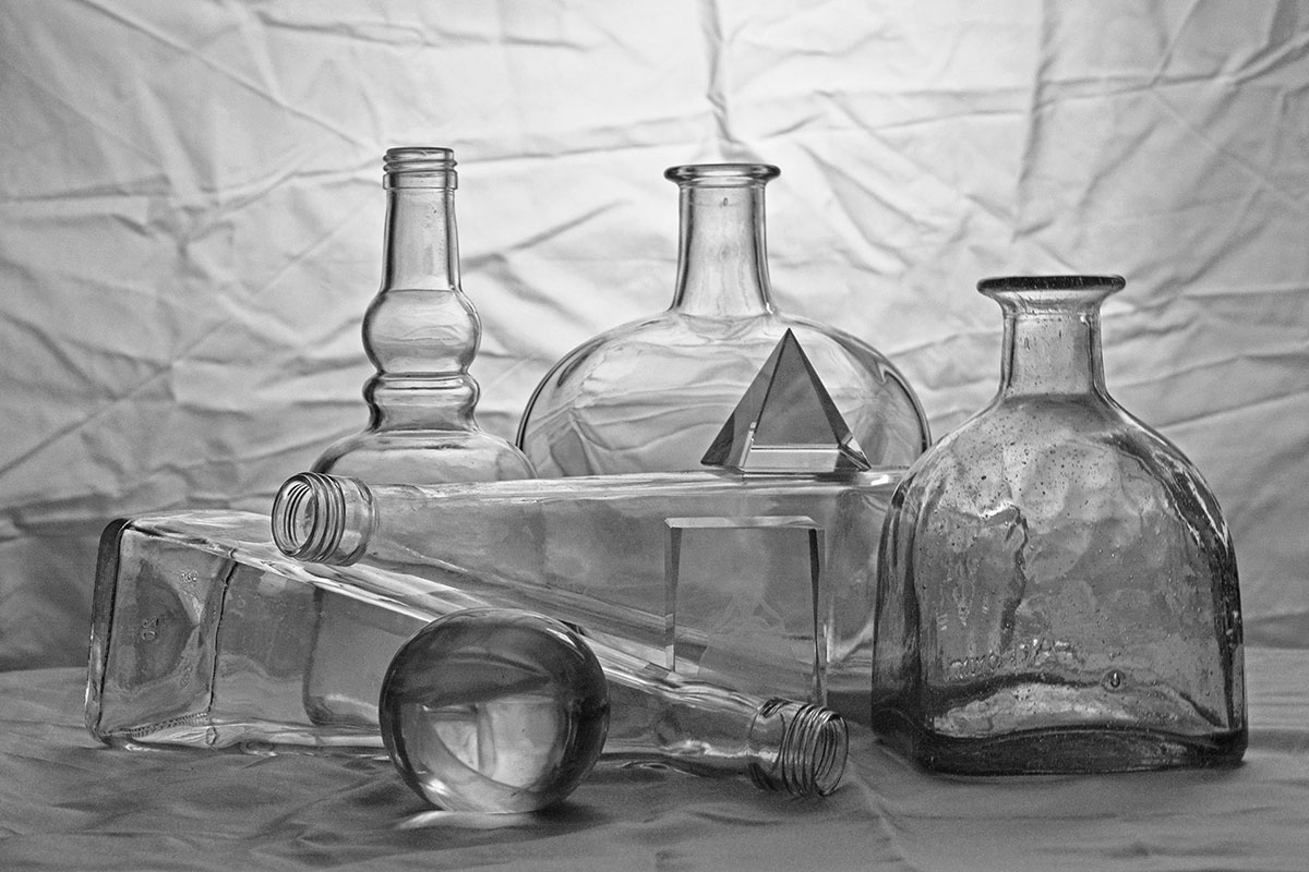 Владимир Николаевич Безгрешнов. Still life with glass №2