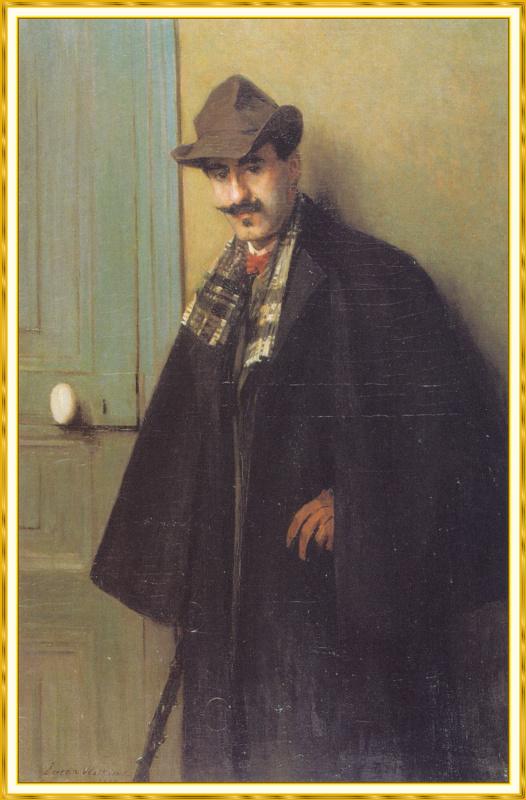 Портрет Альфреда Маурера