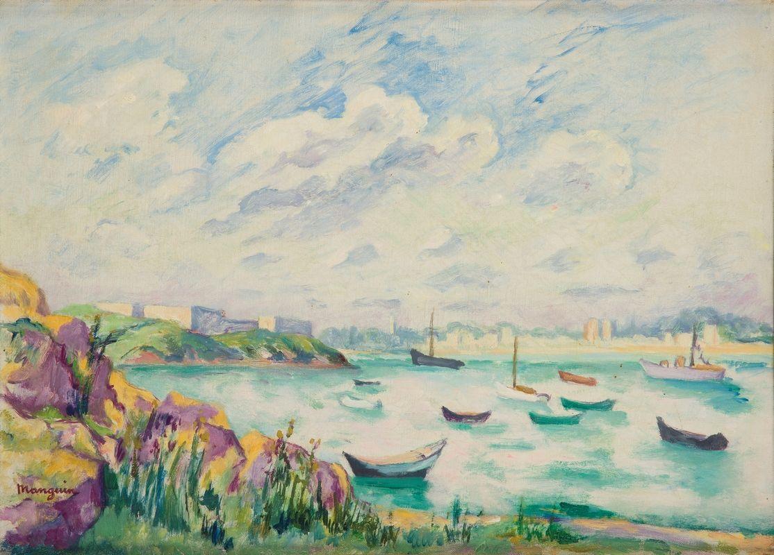 Henri Manguin. View of the coast, Dinard