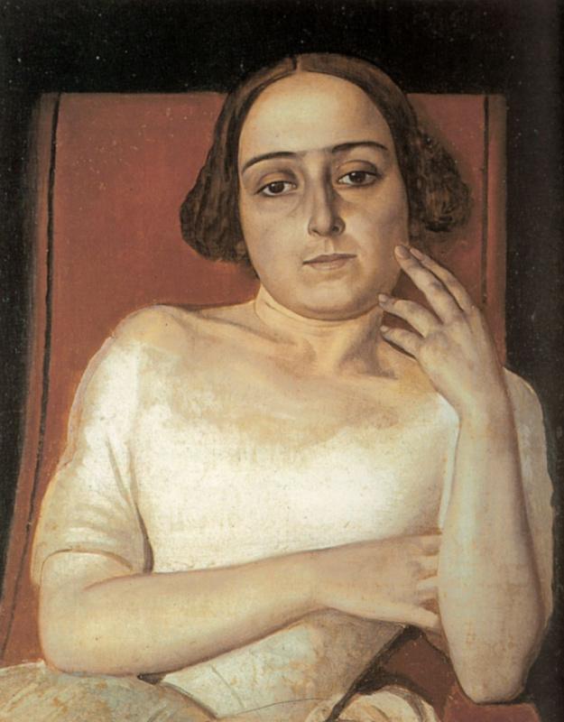 Alexander Andreevich Ivanov. Portrait Victoria Marini