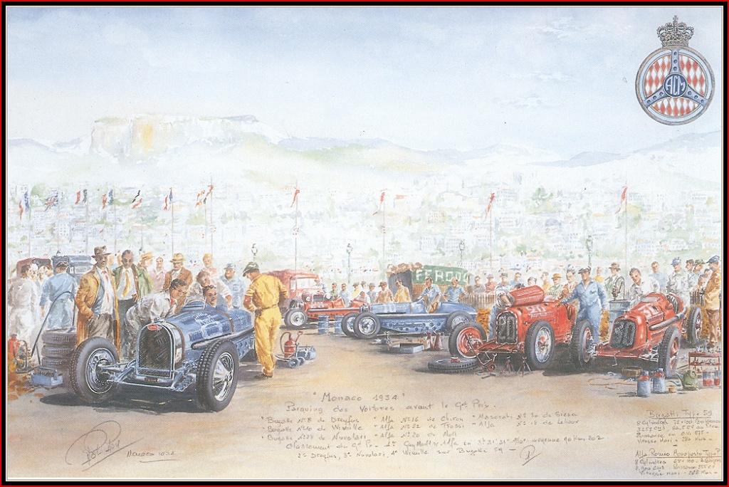 Roy Rob. Racing cars