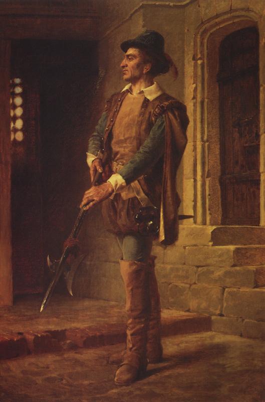 Vasily Polenov. The Huguenot