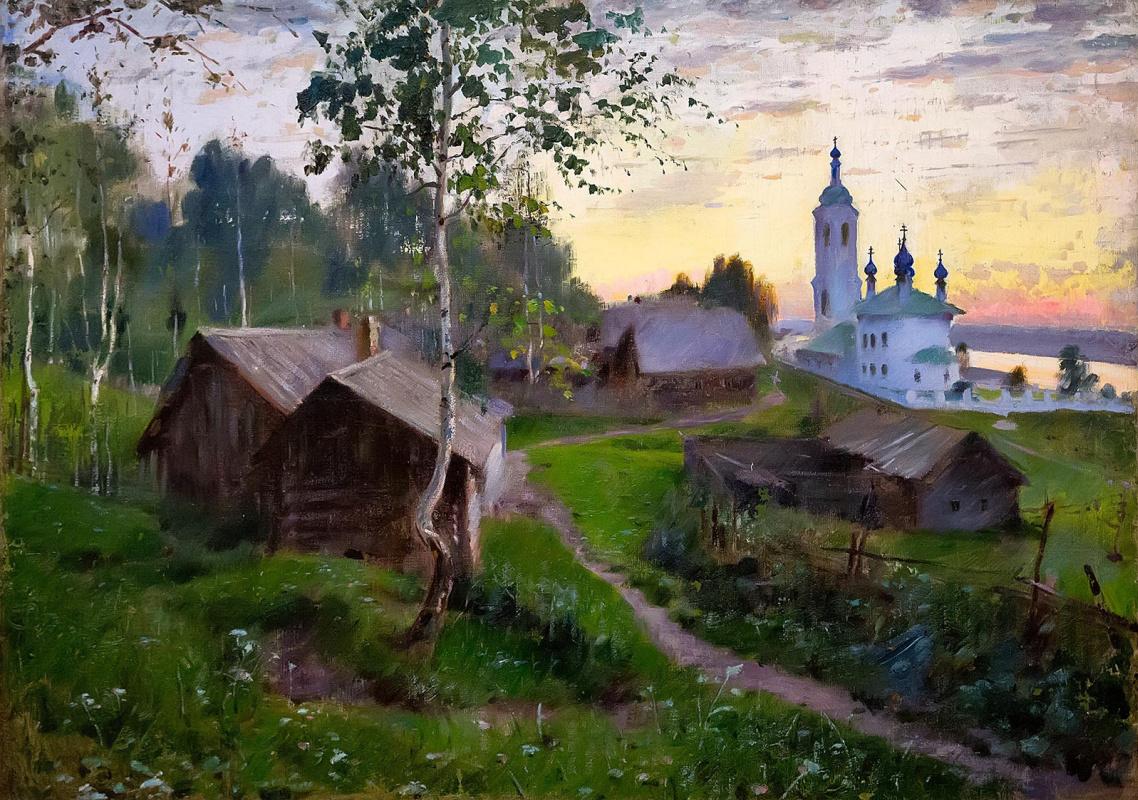 Pavel Petrovich Benkov. Golden reach