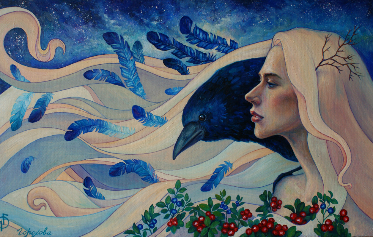 "Liana Gorokhova. ""Northern maiden"""