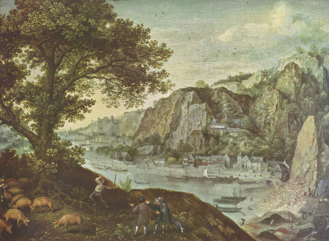 Лукас ван Валькенборх. Пейзаж