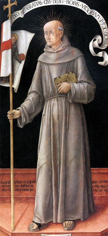 Bartolommeo Vivarini. St. John Kapitanski