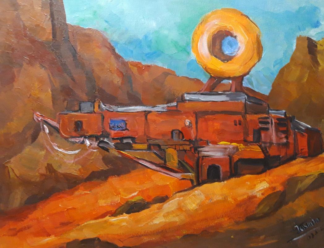 Jasmine Osminkina. Station on Mars