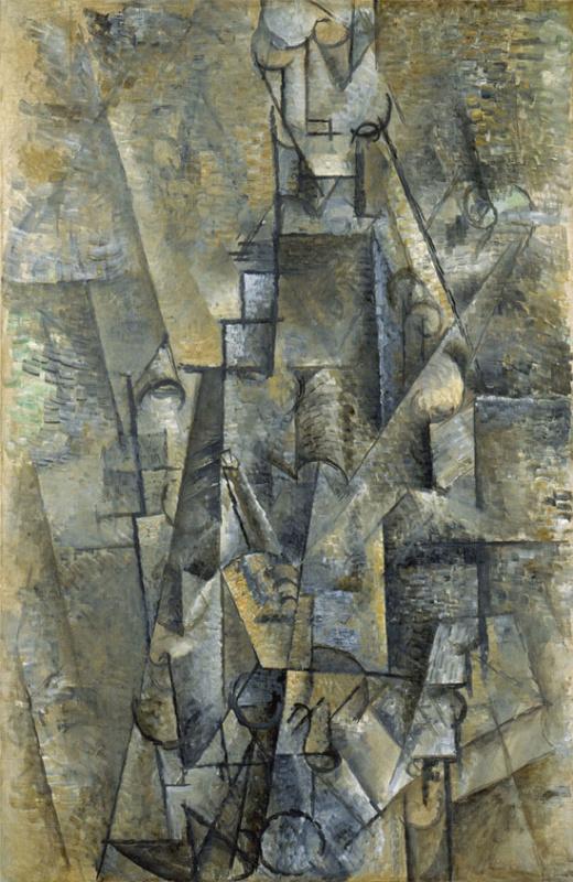 Пабло Пикассо. Человек с кларнетом