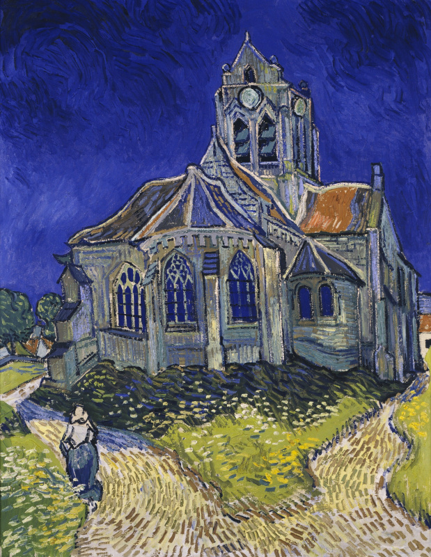 Vincent van Gogh. The Church in Auvers-sur-Oise