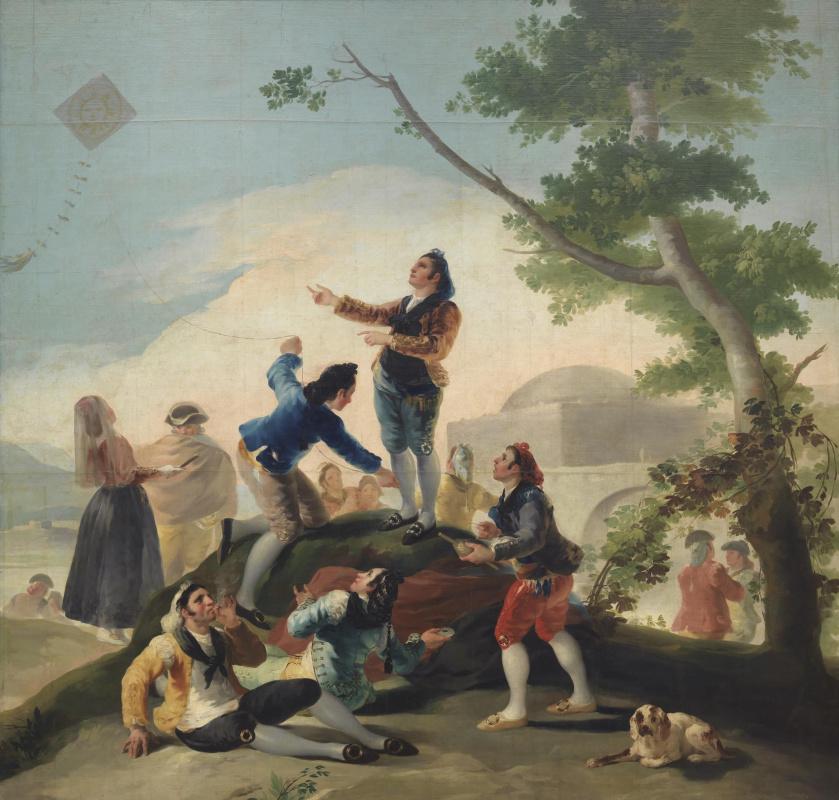 Francisco Goya. Kite