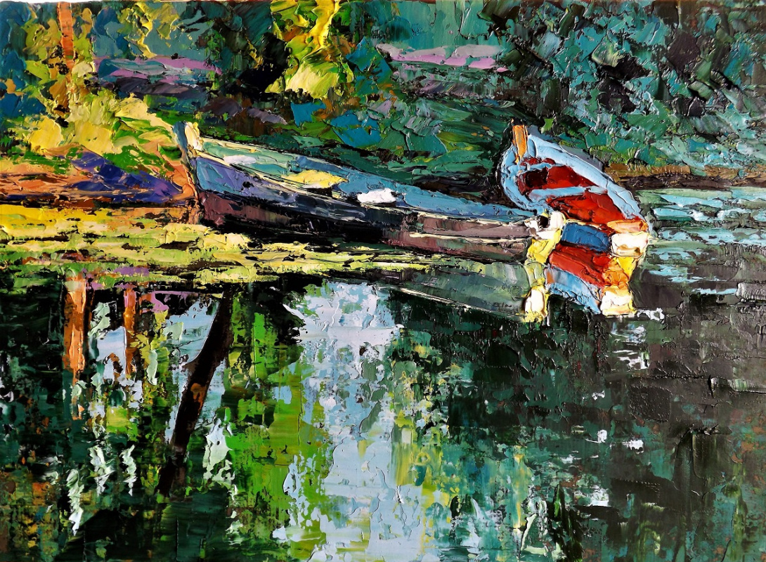 Sergey Yurievich Efremov. The boats