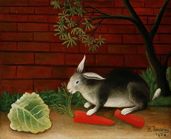 Анри Руссо. Кролик