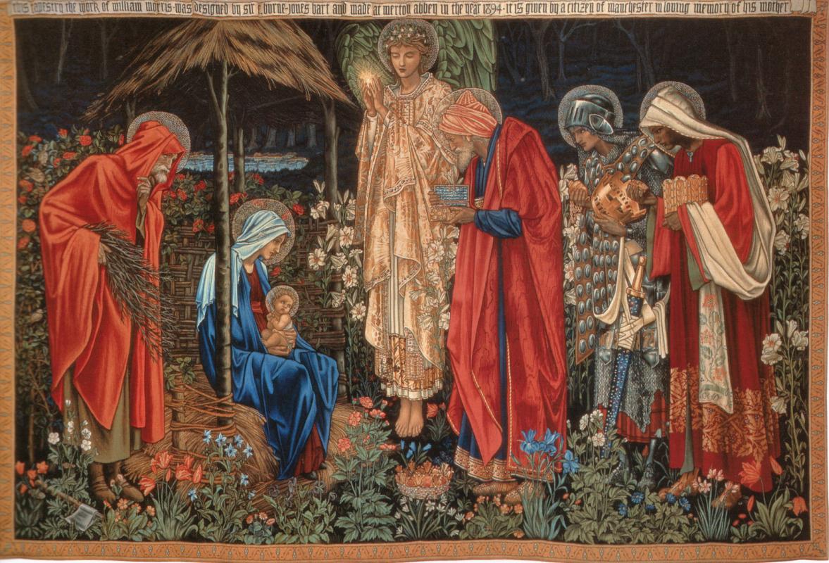 Edward Coley Burne-Jones. Adoration of the Magi