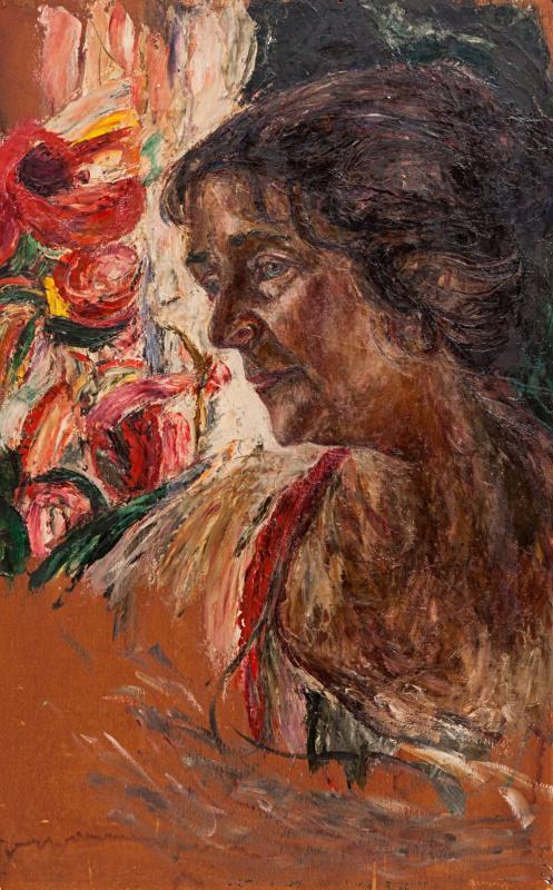 Abram Anshelevich Manevich. Portrait of the artist's mother
