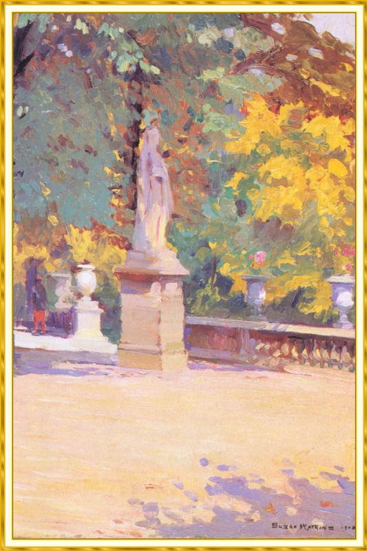 Эскиз памятника в Тюильри