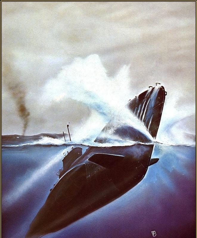 Крис Фосс. Под водой