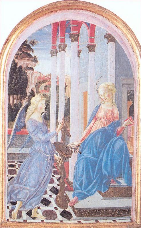 Франческо ди Джорджио Мартини. Благовещение