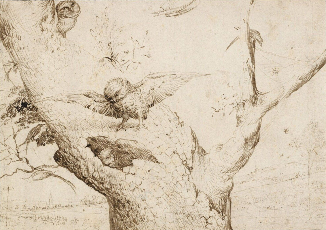 Иероним Босх. Гнездо сов