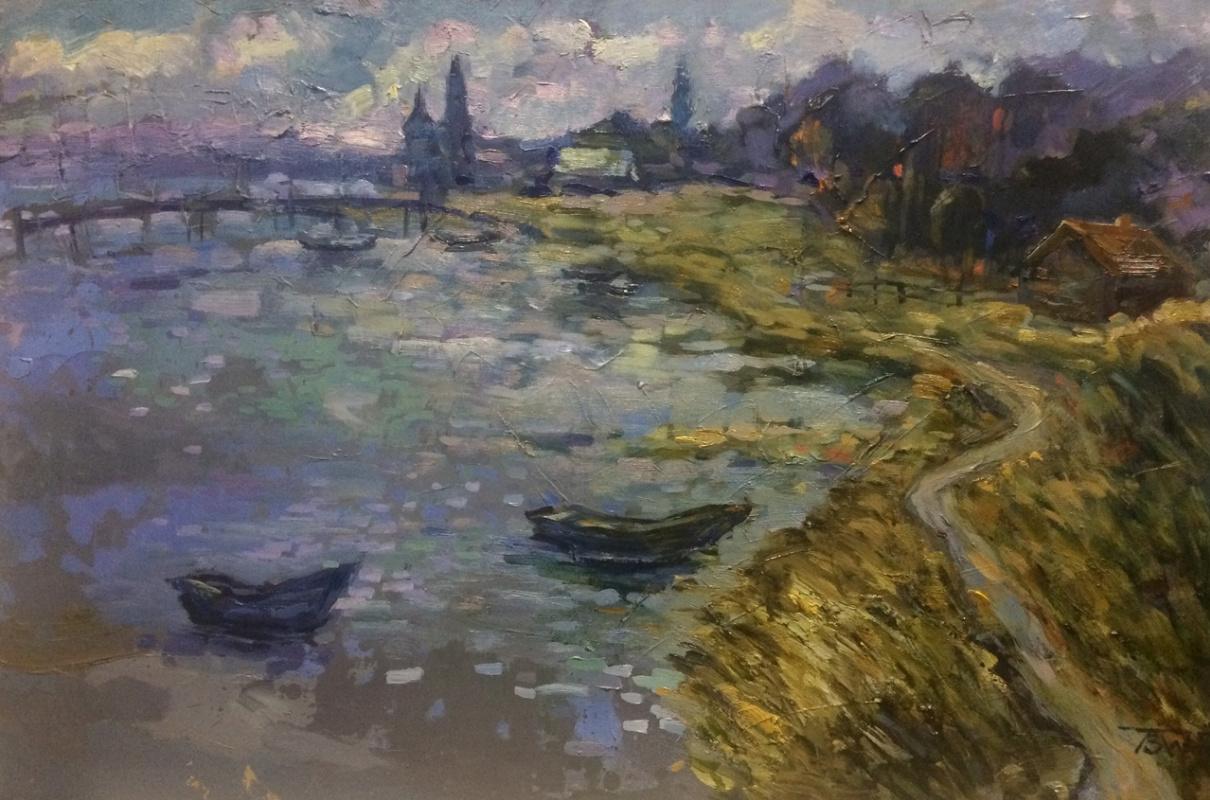 """Polina Evgenevna Zaremba. """"Quiet river"""""""