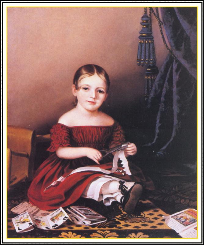 Сара Мириам Пил. Посмертный портрет Марии Гриффит