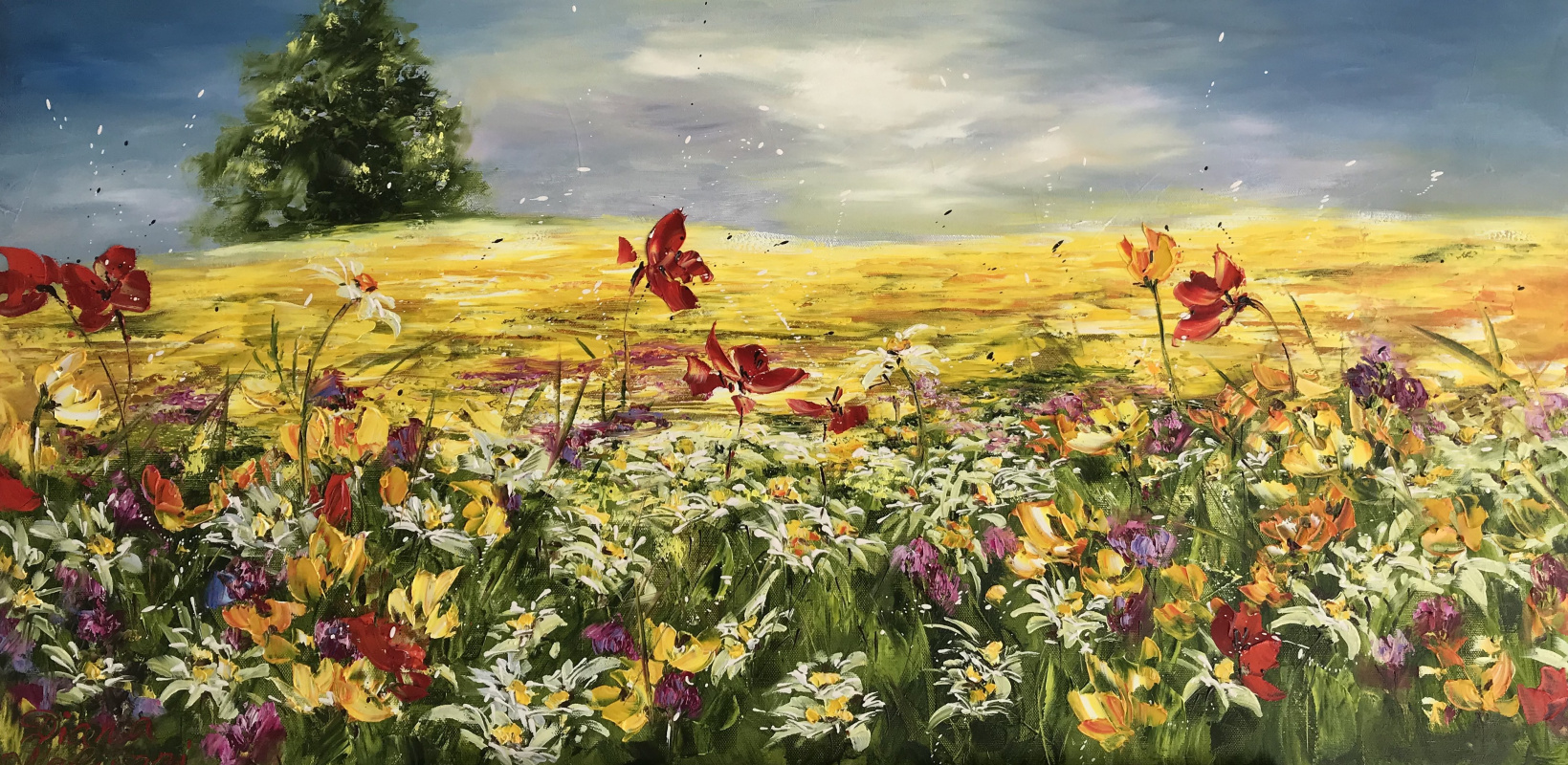 Диана Владимировна Маливани. Summer Meadow