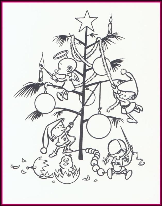 Уоллес Вуд. Рождество