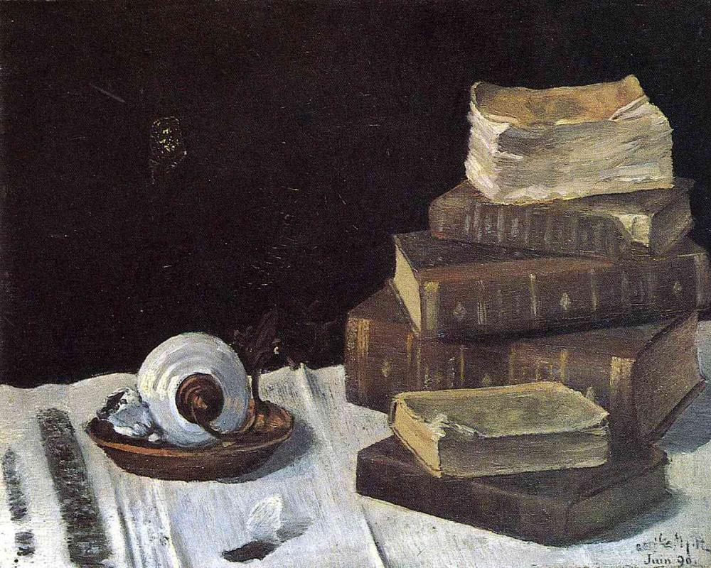 Анри Матисс. Натюрморт с книгами