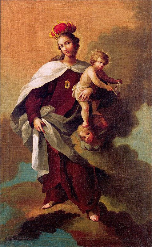 Рафаэль Джимено Плейнс. Мадонна с младенцем